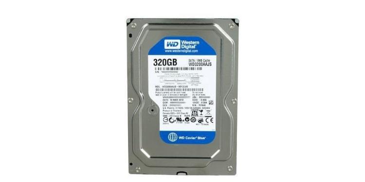 WD Blue 320GB HDD