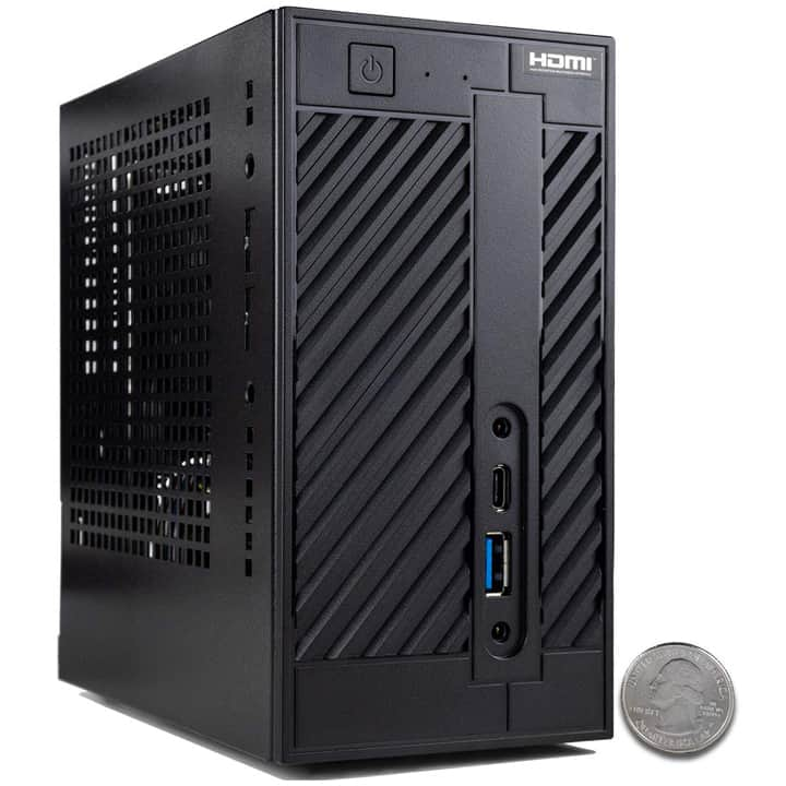 CUK Axiom TS Tiny Gamer Desktop (Ryzen 5 2400G)