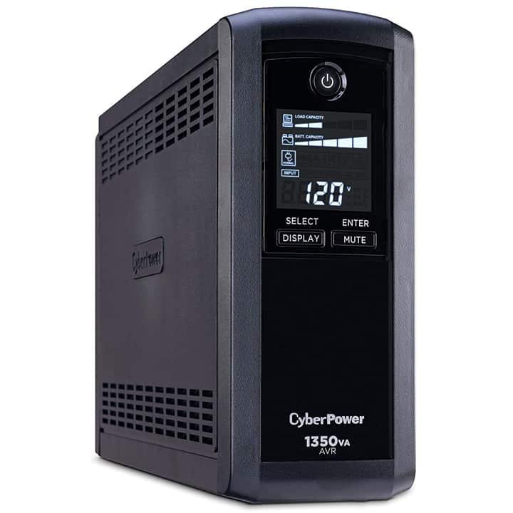 CyberPower Intelligent LCD UPS System 1350VA