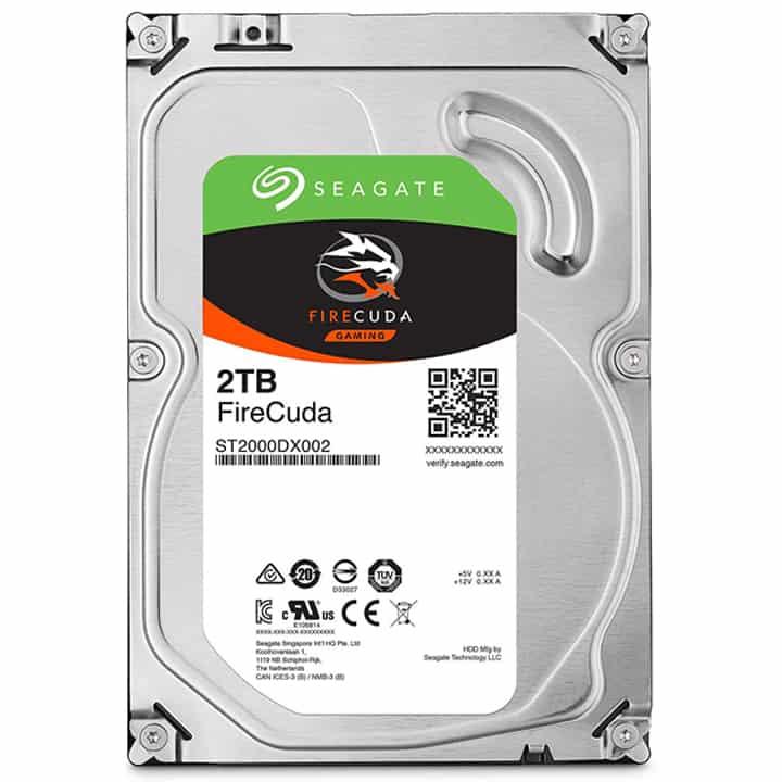 Seagate FireCuda 2TB 3.5 Inch SSHD