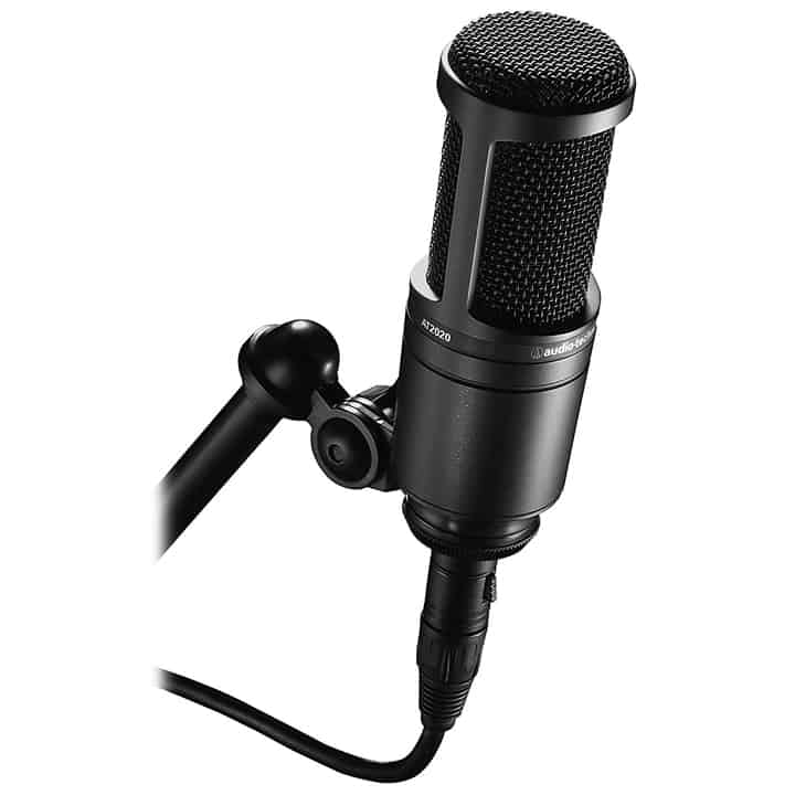 Audio-Technica AT2020 Cardioid Studio XLR Microphone