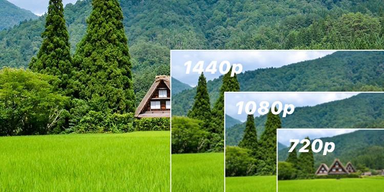 720p vs 1080p vs 1440p vs 4K: Which is best?