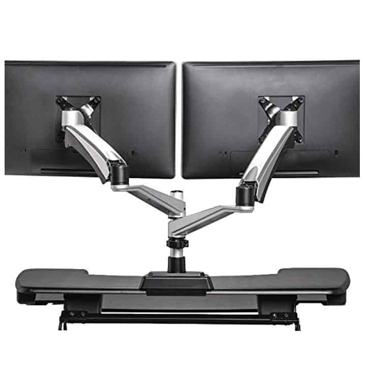 Varidesk Dual Monitor Arm