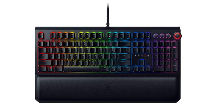 Razer BlackWidow Elite Mechanical Gaming Keyboard (Yellow version)