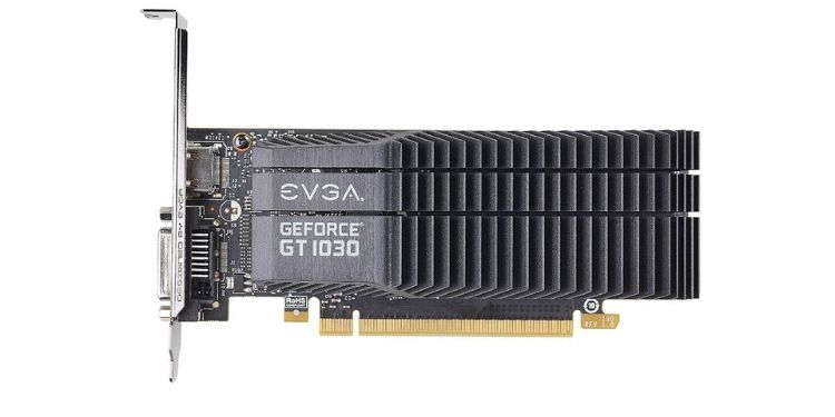 EVGA GeForce GT 1030 SC 2GB GDDR5 Low Profile