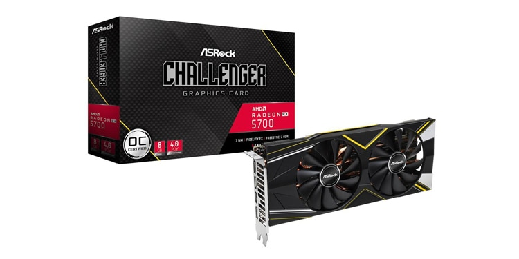 ASRock Challenger D OC Radeon RX 5700