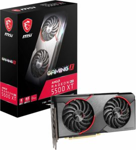 MSI Gaming X Radeon RX 5500 XT