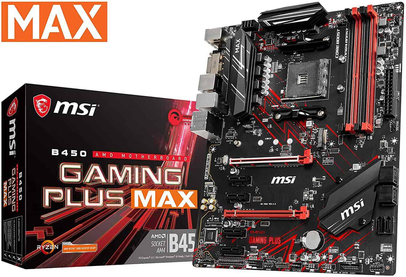 MSI Performance Gaming AMD Ryzen 2ND and 3rd Gen AM4 M.2 USB 3 DDR4 DVI HDMI Crossfire ATX Motherboard