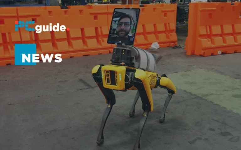 Boston Dynamics is using their robot dog to help COVID-19 patients