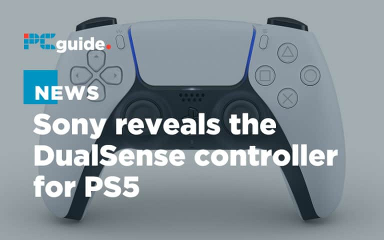 Sony reveals the DualSense controller for PS5