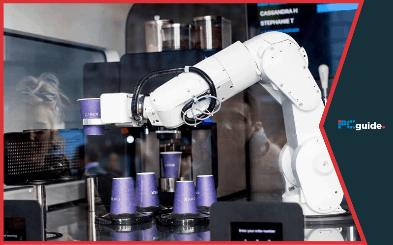 Robotic baristas are being used in South Korea to comply with COVID-19 rules
