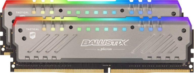 Crucial Ballistix Tactical Tracer RGB RAM