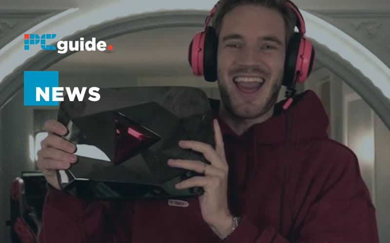 PewDiePie signs exclusive live streaming deal with YouTube