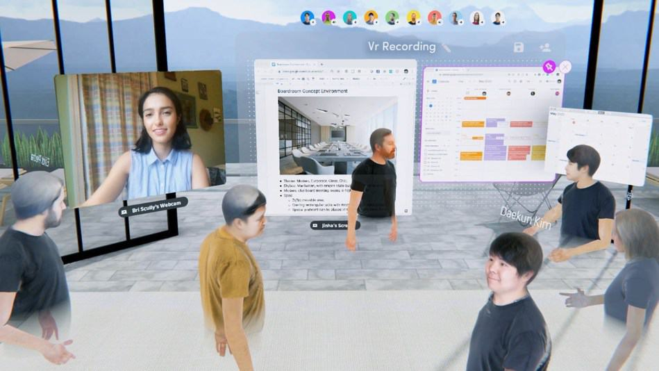 Spatial screenshot