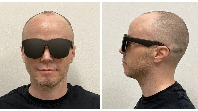 Facebook VR glasses