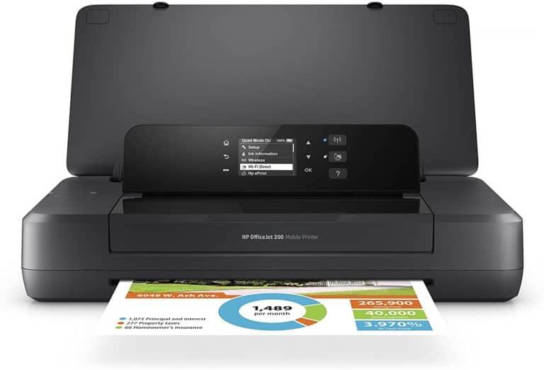 HP OfficeJet 200 Portable Printer