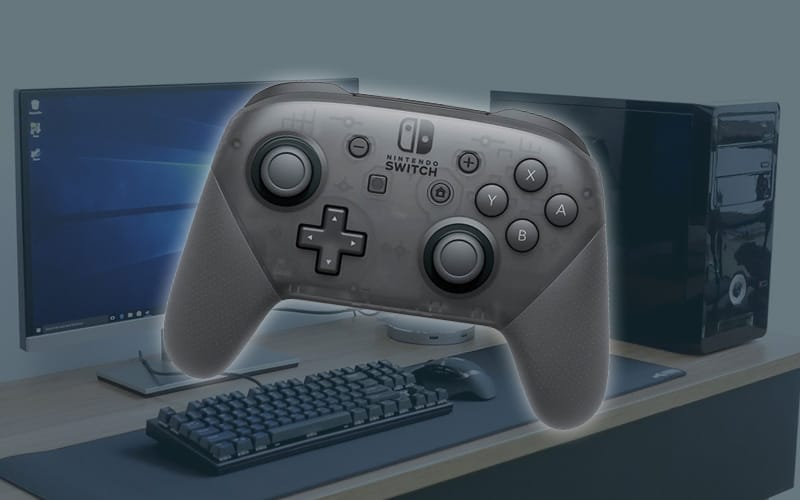 How to use Switch Pro controller on PC