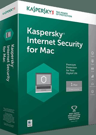 Kapersky Internet Security for Mac