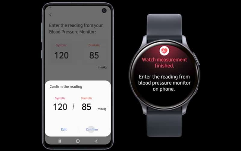 Samsung releases blood pressure tracking for the Galaxy Watch Active 2