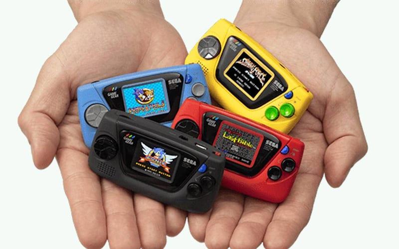 Sega announces the $50 Game Gear Micro
