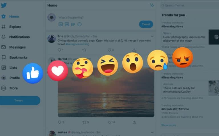 Twitter to implement Emoji tweet reactions
