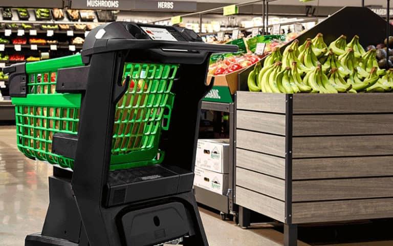Amazon Dash Cart to revolutionize the supermarket experience