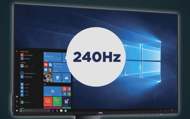 How to change monitor refresh rate
