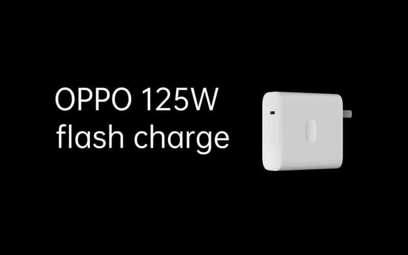 Oppo reveals 125W Flash Charge technology