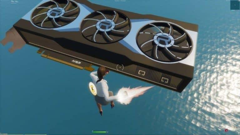 AMD GPU in fortnite