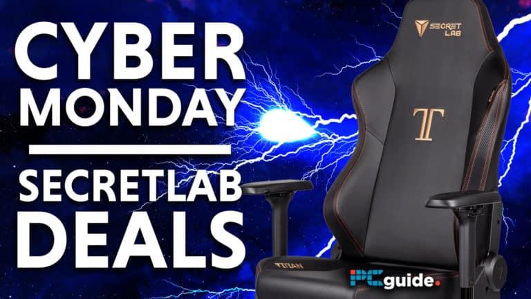 Cyber Monday Secretlab Deals