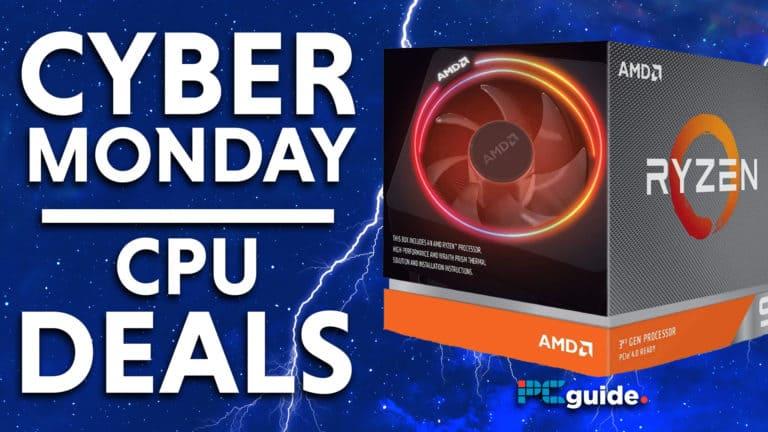 Cyber Monday cpu Deals