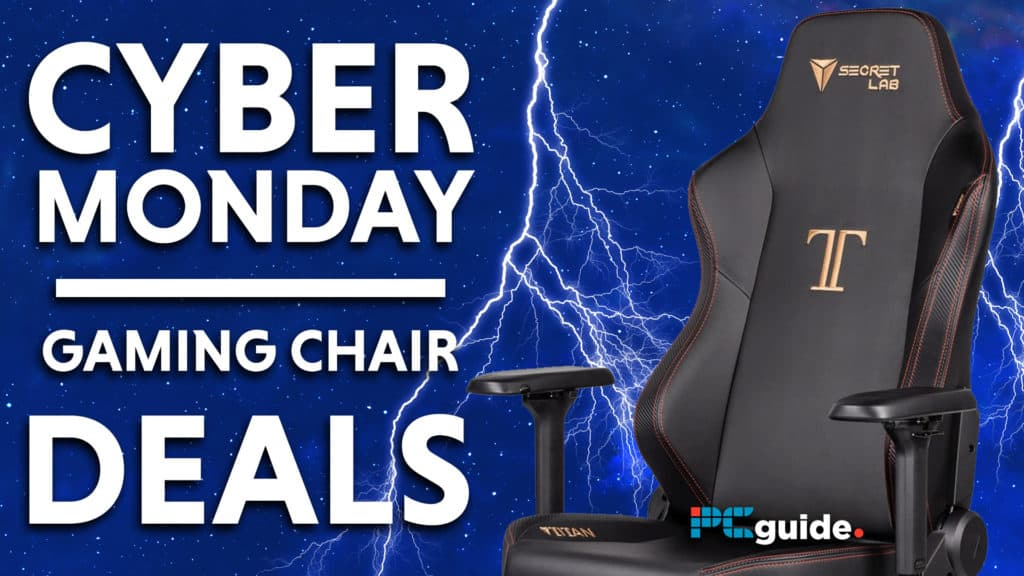 Cyber Monday gaming chair Deals