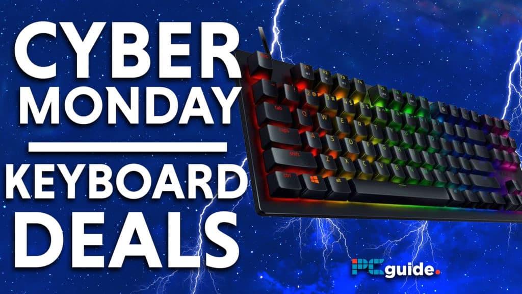 Cyber Monday keyboard Deals