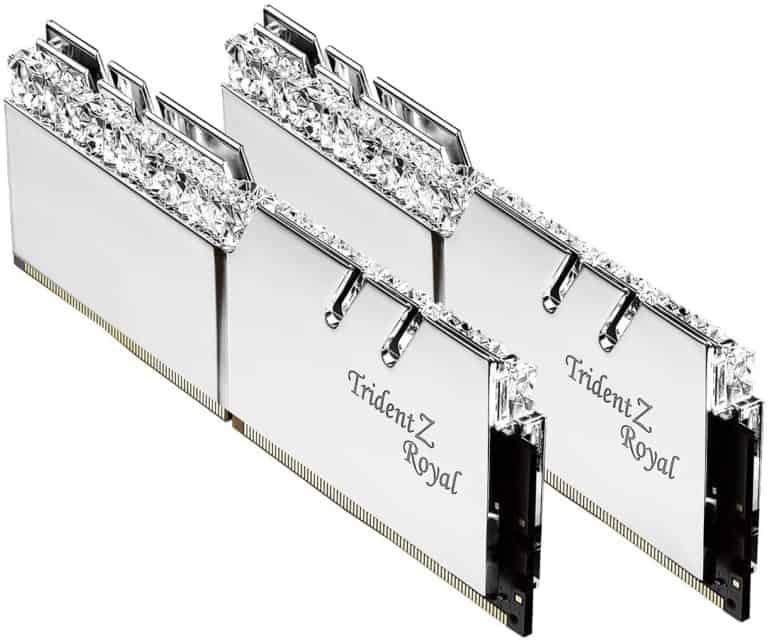 G.SKILL 16GB (2 x 8GB) Trident Z Royal Series DDR4 PC4-32000 4000MHz