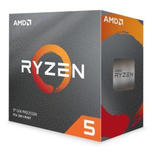 AMD Ryzen 5 3600 Gen3 6 Core AM4 CPU Processor with Wraith Stealth Cooler
