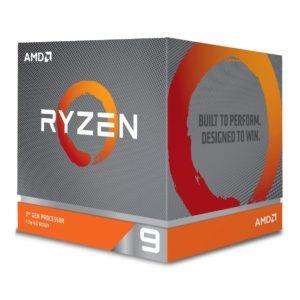 AMD Ryzen 9 3900X Gen3 12 Core AM4 CPU Processor with Wraith Prism RGB Cooler