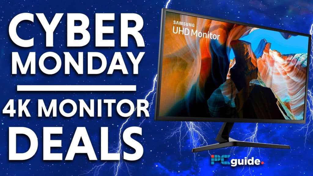 Cyber Monday 4k monitor Deals