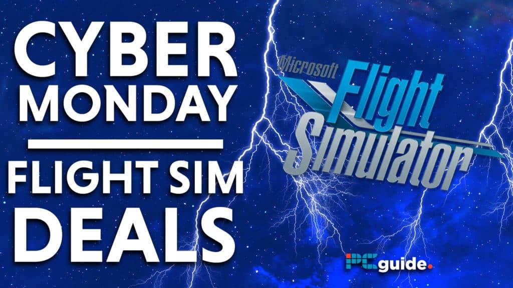 Cyber Monday microsoft flight simulator Deals