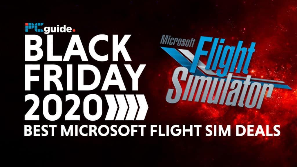 Microsoft Flight Simulator Black Friday Deals 2020