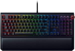 Razer BlackWidow Elite Mechanical Gaming Keyboard Yellow Mechanical Switches