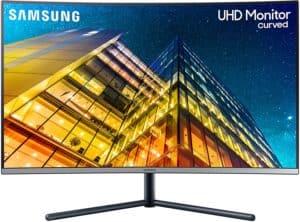 SAMSUNG LU32R590CWNXZA 32-Inch UR590C UHD 4K Curved Gaming Monitor