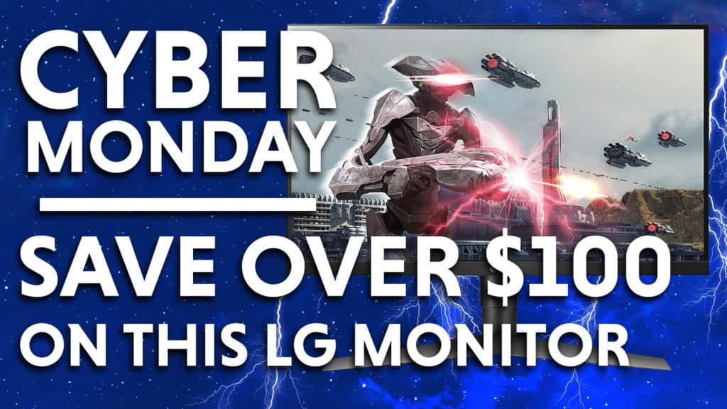 lg monitor Cyber Monday Deals
