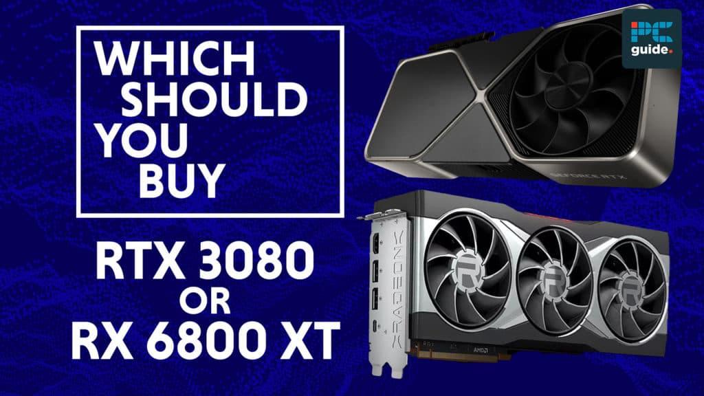 rtx 3080 vs 6800 xt
