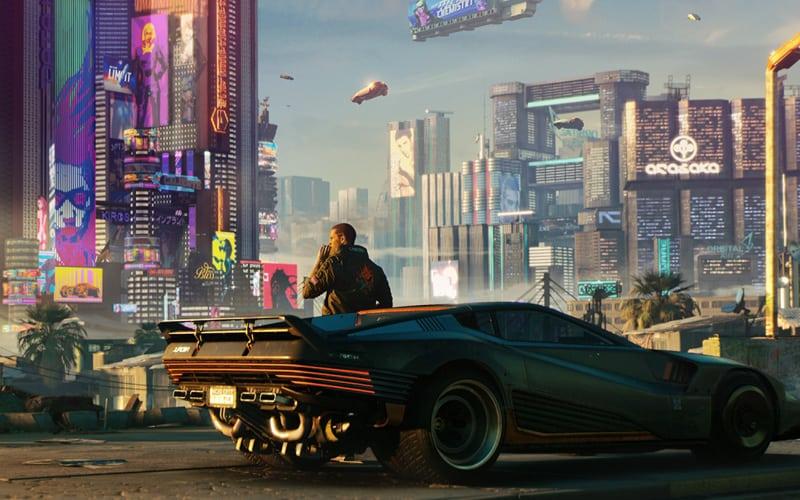 cyberpunk 2077 landscape