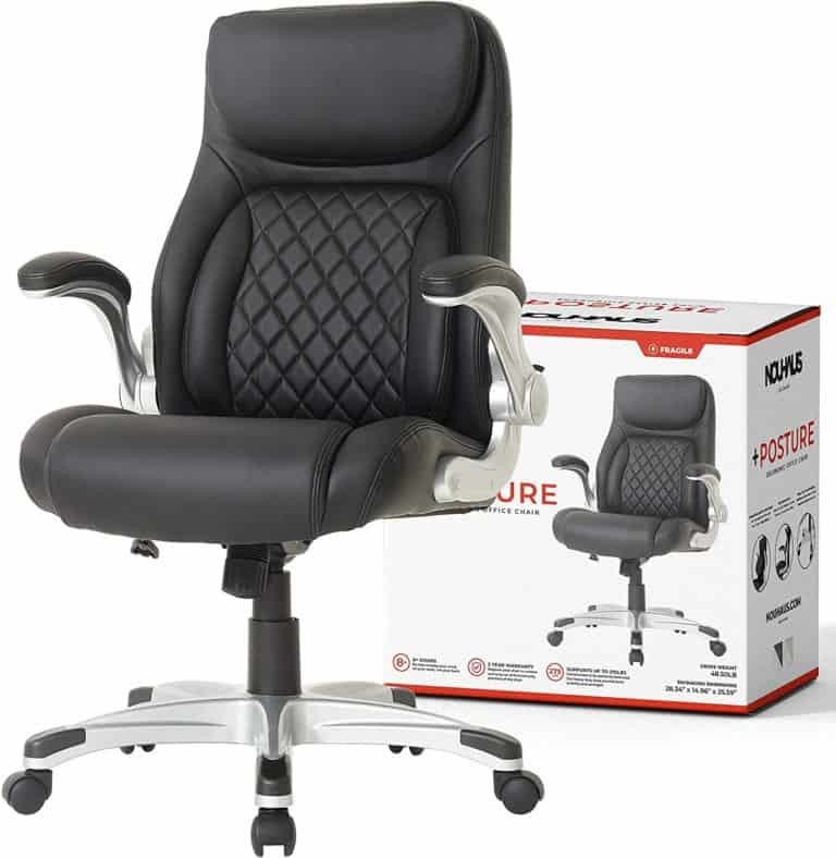 Nouhaus +Posture Ergonomic PU Leather Office Chair