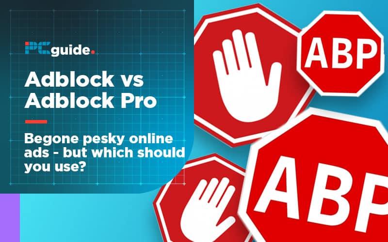 Adblock vs Adblock Plus title image