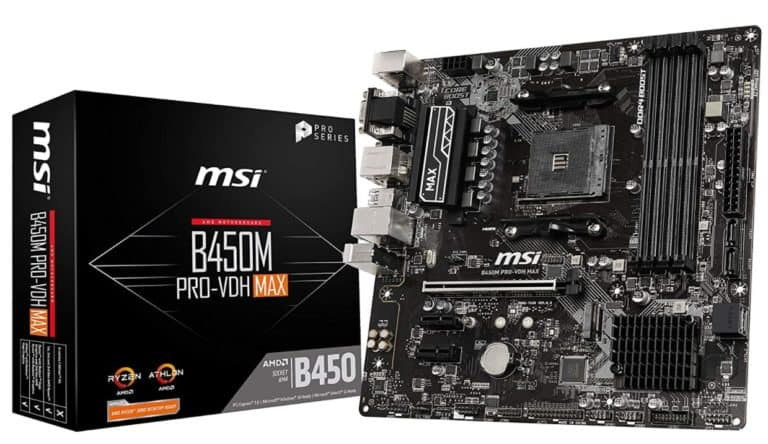 MSI B450M ProVDH MAX
