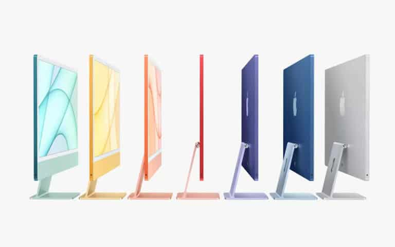 new apple imac colors