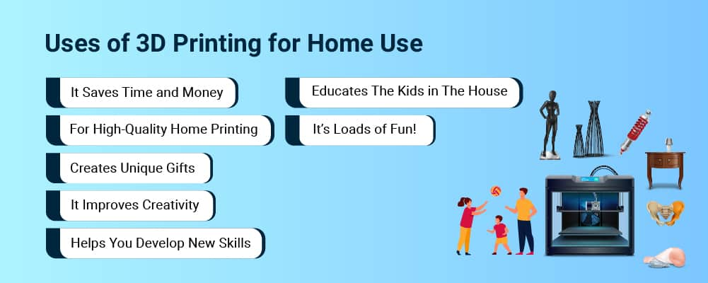 uses for 3D printing at home