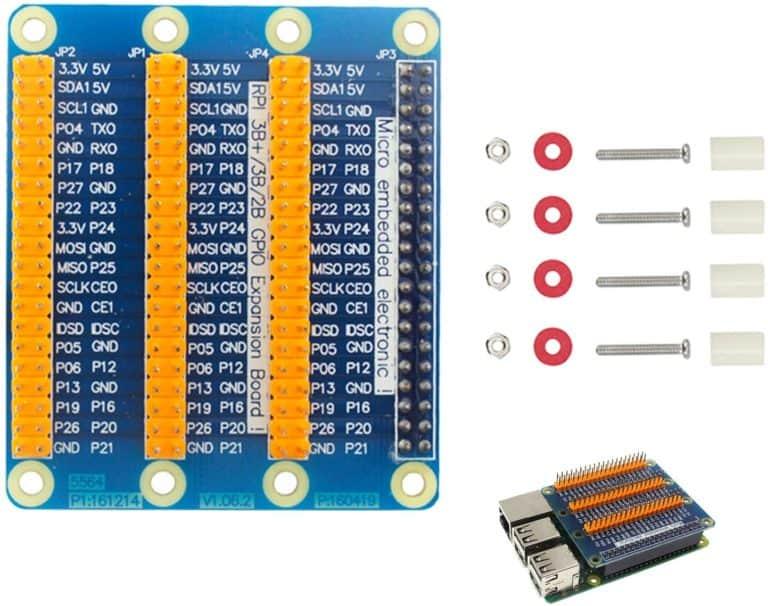 Pastall Raspberry Pi GPIO Extension Board